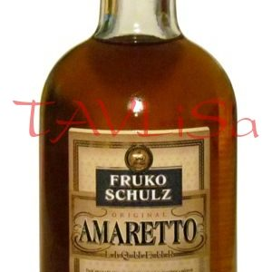 Amaretto Liqueur 25% 50ml Fruko Schulz miniatura
